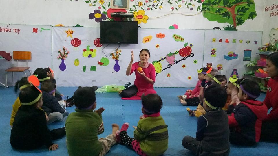 Trường mầm non Trường Sơn tổ chức hội thi Giáo viên dạy giỏi cấp trường - Năm học: 2017 - 2018